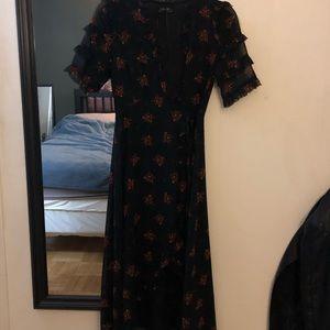 Zara premium wrap dress